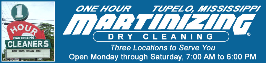 One Hour Martinizing - Tupelo Dry Cleaning